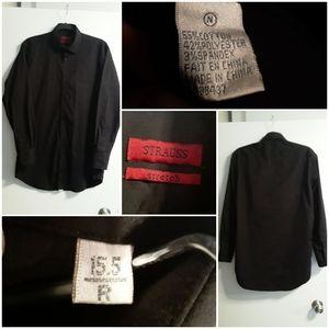 Levi Strauss Button-Up Stretch Custom Dress Shirt